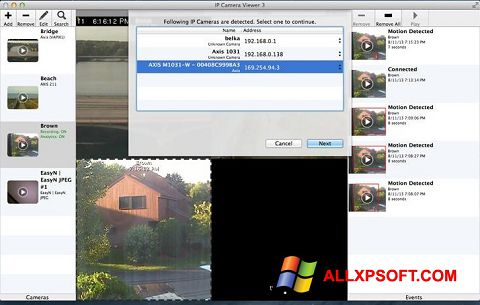 Capture d'écran IP Camera Viewer pour Windows XP