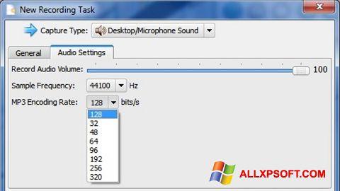 Capture d'écran SMRecorder pour Windows XP