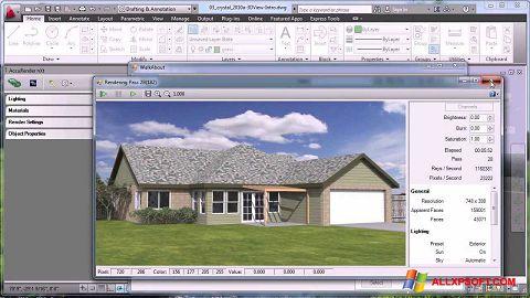 Capture d'écran AutoCAD pour Windows XP