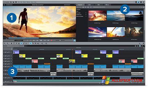 Capture d'écran MAGIX Movie Edit Pro pour Windows XP