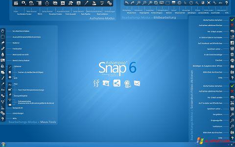 Capture d'écran Ashampoo Snap pour Windows XP