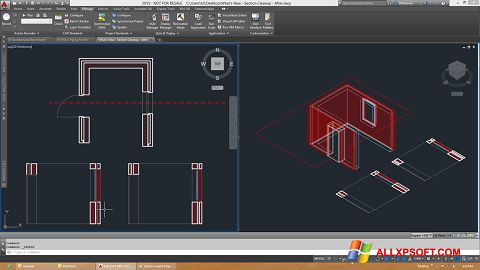 Capture d'écran AutoCAD Architecture pour Windows XP