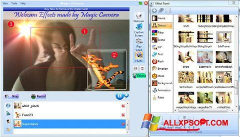 Capture d'écran Magic Camera pour Windows XP
