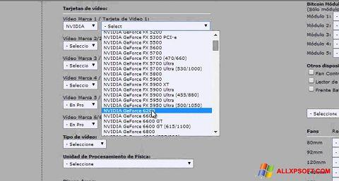 Capture d'écran Power Supply Calculator pour Windows XP
