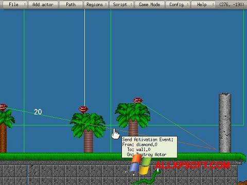 Capture d'écran Game Editor pour Windows XP