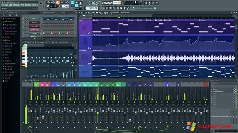 Capture d'écran FL Studio pour Windows XP