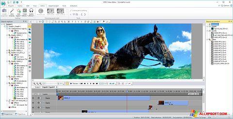 Capture d'écran Free Video Editor pour Windows XP