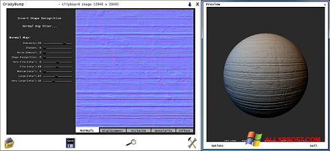 Capture d'écran CrazyBump pour Windows XP