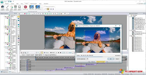 Capture d'écran VSDC Free Video Editor pour Windows XP