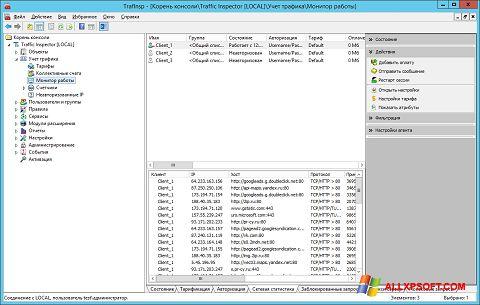 Capture d'écran Traffic Inspector pour Windows XP