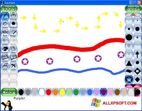 Capture d'écran Tux Paint pour Windows XP