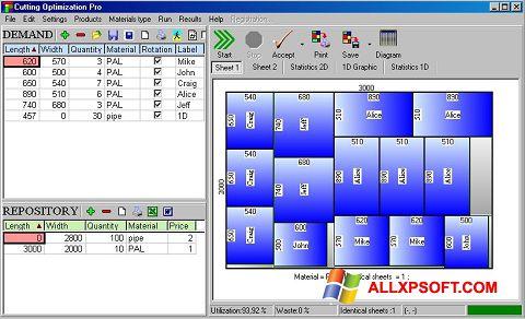 Capture d'écran Cutting pour Windows XP