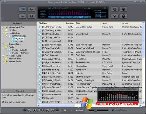 Capture d'écran JetAudio pour Windows XP