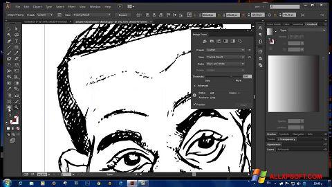 Capture d'écran Adobe Illustrator CC pour Windows XP