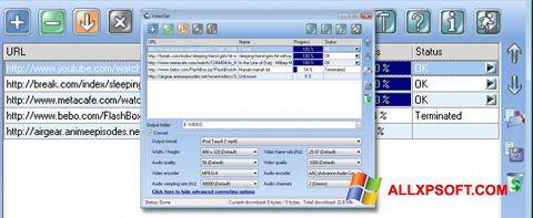 Capture d'écran VideoGet pour Windows XP