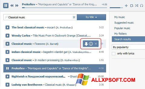 Capture d'écran SaveFrom.net pour Windows XP