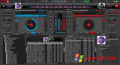 Capture d'écran Virtual DJ pour Windows XP