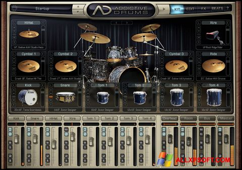 Capture d'écran Addictive Drums pour Windows XP