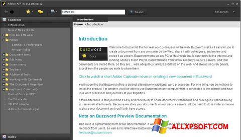 Capture d'écran Adobe AIR pour Windows XP