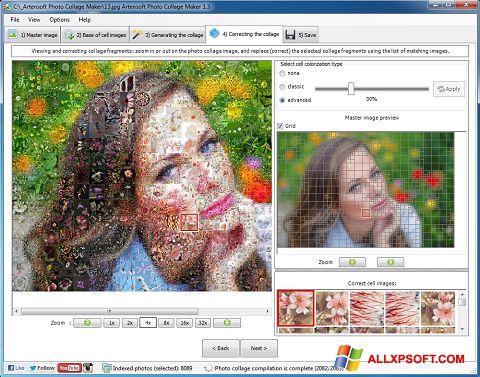 Capture d'écran Photo Collage pour Windows XP