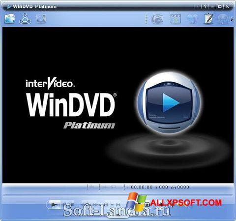 Capture d'écran WinDVD pour Windows XP