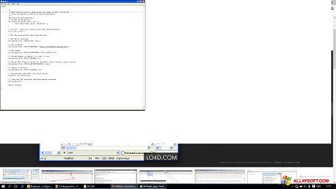 Capture d'écran AkelPad pour Windows XP