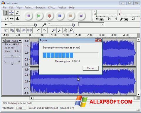 TÉLÉCHARGER LAME ENCODER MP3 POUR AUDACITY